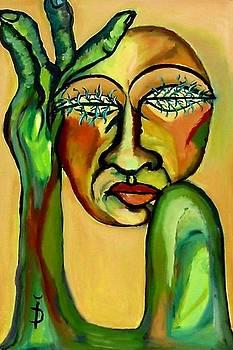 Green Eyes by Daniela Isache