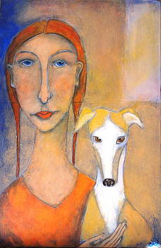 Greyhound and Proud by Cindy Riccardelli