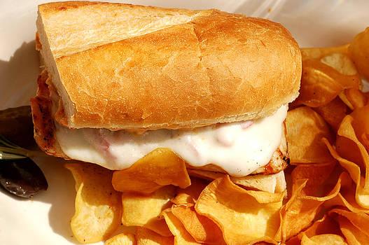 Grilled Chicken Sandwich by Karin Hildebrand Lau