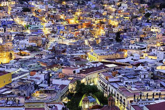 Guanajuato at Night by Thomas Chamberlin