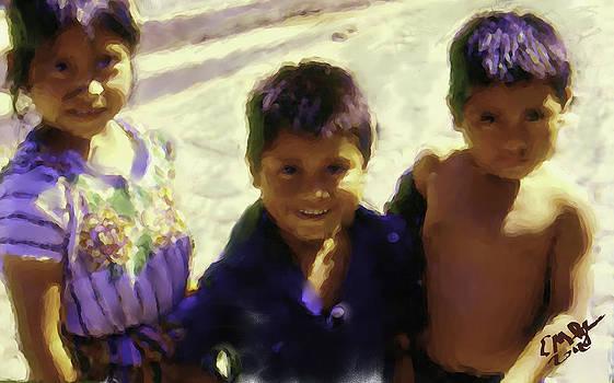 Guatemalan Kids by Elizabeth Iglesias