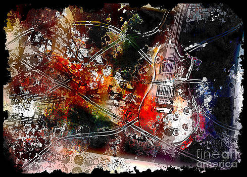 Guitar Melody by Claire Bull