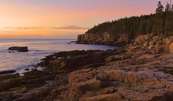 Gulf Of Maine Sunrise by Stephen  Vecchiotti