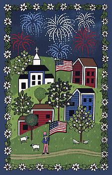Happy 4th of July by Medana Gabbard
