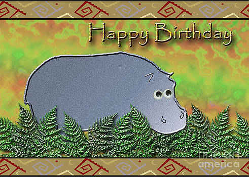 Jeanette K - Happy Birthday Hippo