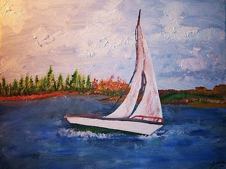 Happy Sailing by Fawn Whelahan