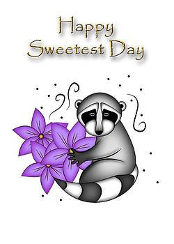 Jeanette K - Happy Sweetest Day Raccoon