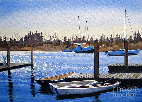 Harbor Lights by Shirley Braithwaite Hunt
