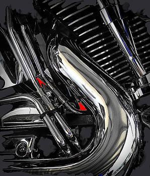 Harley Davidson Fatboy by Alan Thal