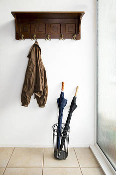 Hat Rack And Umbrella Stand by Corepics