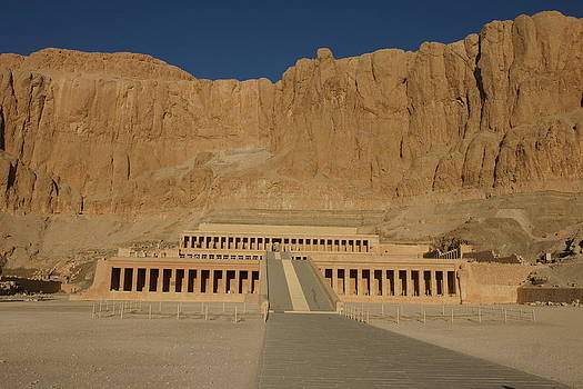 Hatshepsut Temple by Olaf Christian