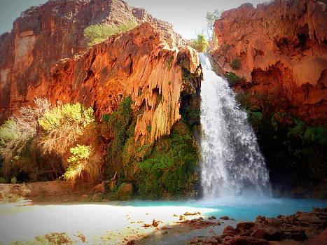 Havasu Falls by Carrie Putz