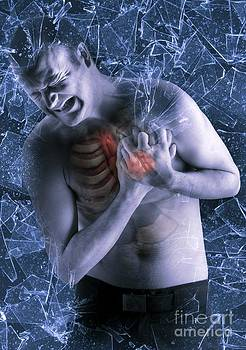Tim Vernon, LTH NHS Trust - Heart Attack, Artwork