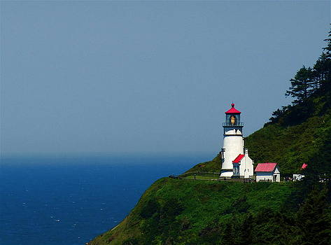 Heceta Head LightHouse by Claire McGee