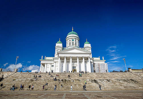 Helsinki Cathedral by Fernando Margolles