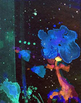 Patricia Lazaro - Hibiscus in the space