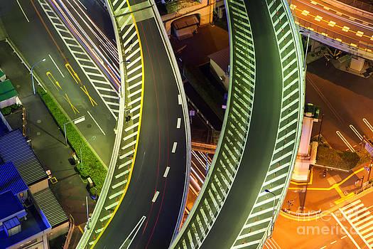 Highway by Fototrav Print