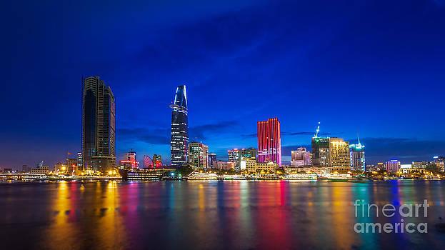 Fototrav Print - Ho Chi Minh City Night Skyline