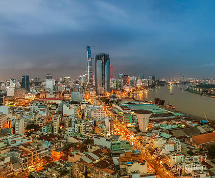 Fototrav Print - HO CHI MINH CITY SKYLINE