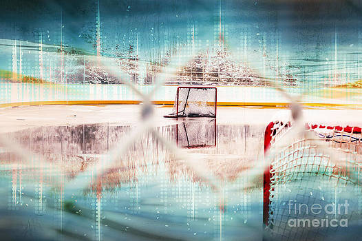 Alanna DPhoto - Hockey Graphic Kids Art