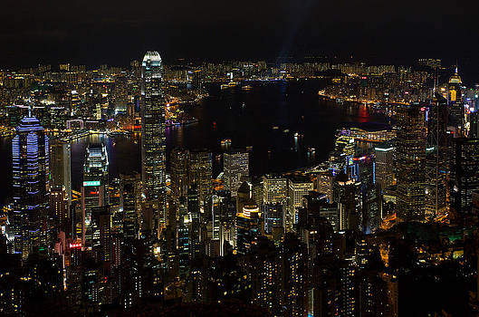Hong Kong Night Scene by Jason KS Leung