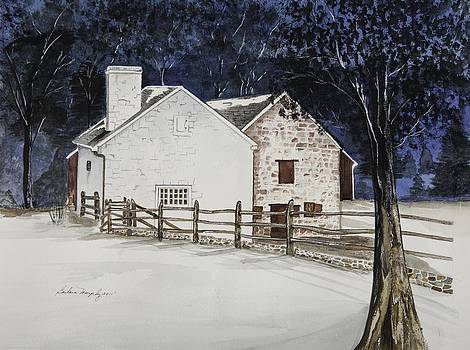 Hopewell Furnace by Barbara Murphy