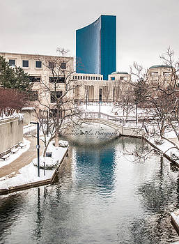 Indianapolis Canal by Beverly Cazzell