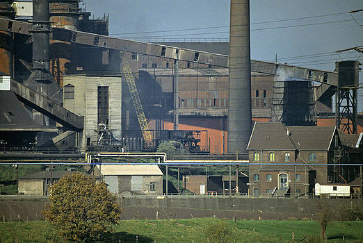 Industry in Duisburg Germany by David Davies