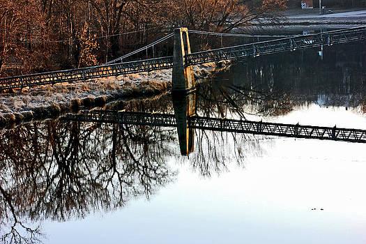 Jon Baldwin  Art - Iowa Falls Swinging Bridge