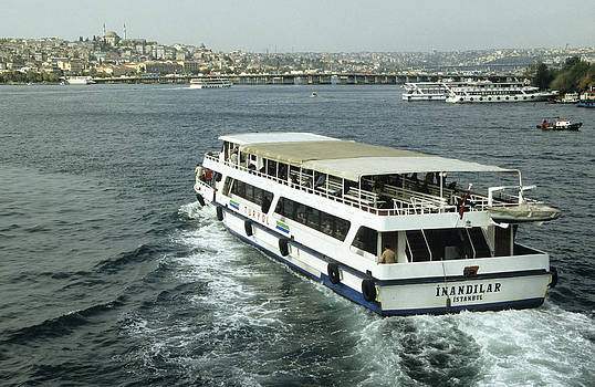 Istanbul ferries by Jim  Wallace