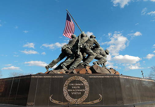 Iwo Jima War Memorial by Scott Fracasso