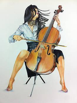 Jammin Cello by Don Whitson