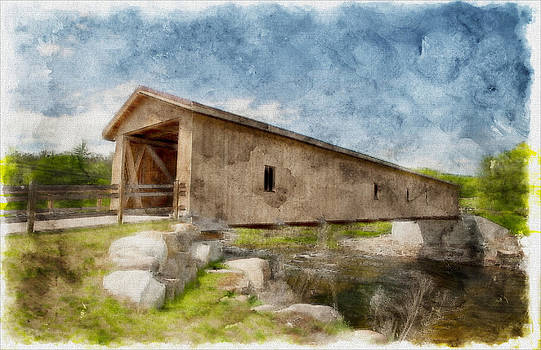 Jay Covered Bridge by David Seguin