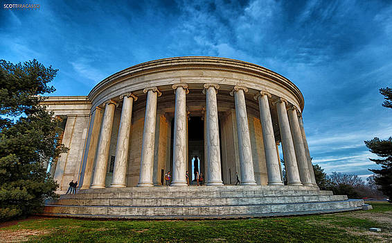 Jefferson Memorial by Scott Fracasso