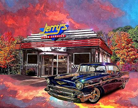 Jerry's Curb Service by Charles Ott