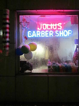 Julius' Barber Shop by Guy Ricketts