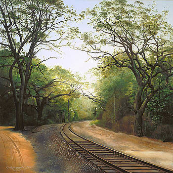 just Around the Bend by Keith Martin Johns