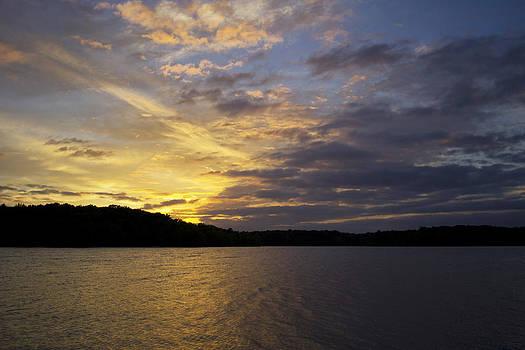 Kerr Lake Evening II by Ben Shields