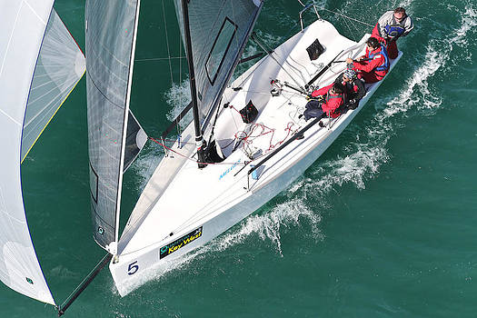 Steven Lapkin - Key West Race Week Aerial