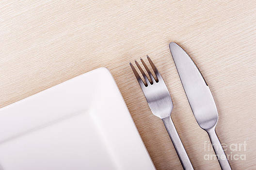 Tim Hester - Knife Fork and Plate