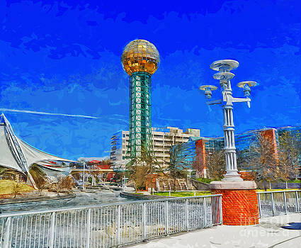 Knoxville Sunsphere Park by Ules Barnwell