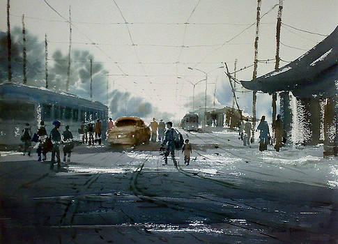 Kolkata by Jiaur Rahman