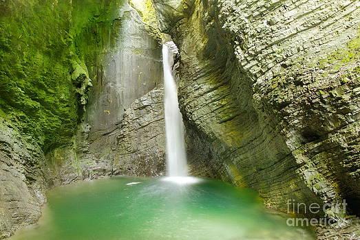 Kozjak waterfall by Tomaz Kunst
