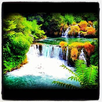 Krka Waterfall Croatia by Maeve O Connell