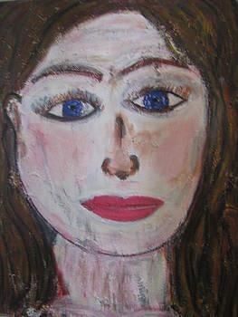 La femme de Cathares by Danielle Landry