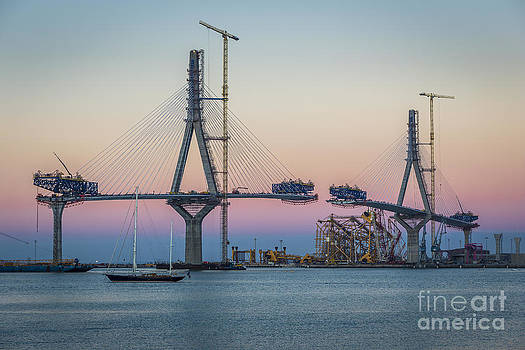 La Pepa Bridge Cadiz Spain by Pablo Avanzini