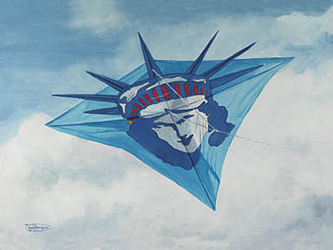 Lady Liberty by Carol Thompson