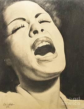 Lady Sings by Adrian Pickett