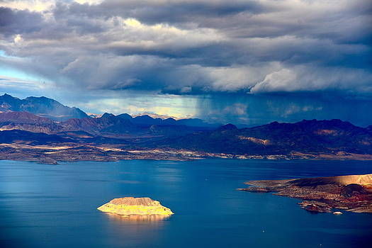 Lake Mead Afternoon Thunderstorm by Amanda Miles