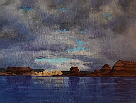 Lake Powell Storm by Cheryl Fecht